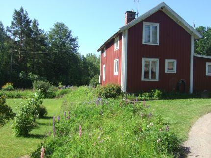 Vårt hus som vi bodde under SM
