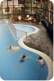 I denna pool badade Sofie och Fredrik i nyss, fin va!?