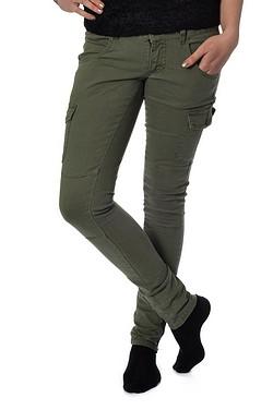 gröna byxor med fickor dam