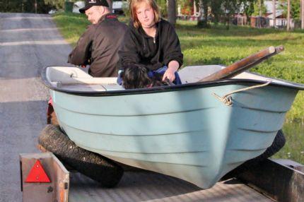 brädor i båten