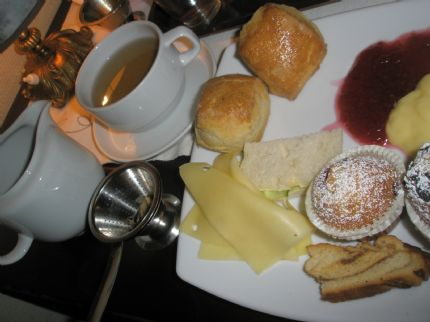 Afternoon tea p� Vetekatten.