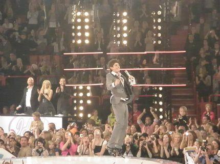 Kevin som vinnare av Idol 2008!