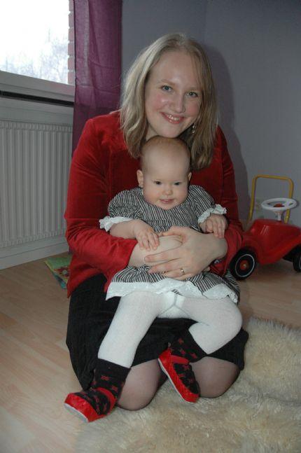 Elin och mamma
