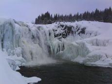 vattenfall utanför åre